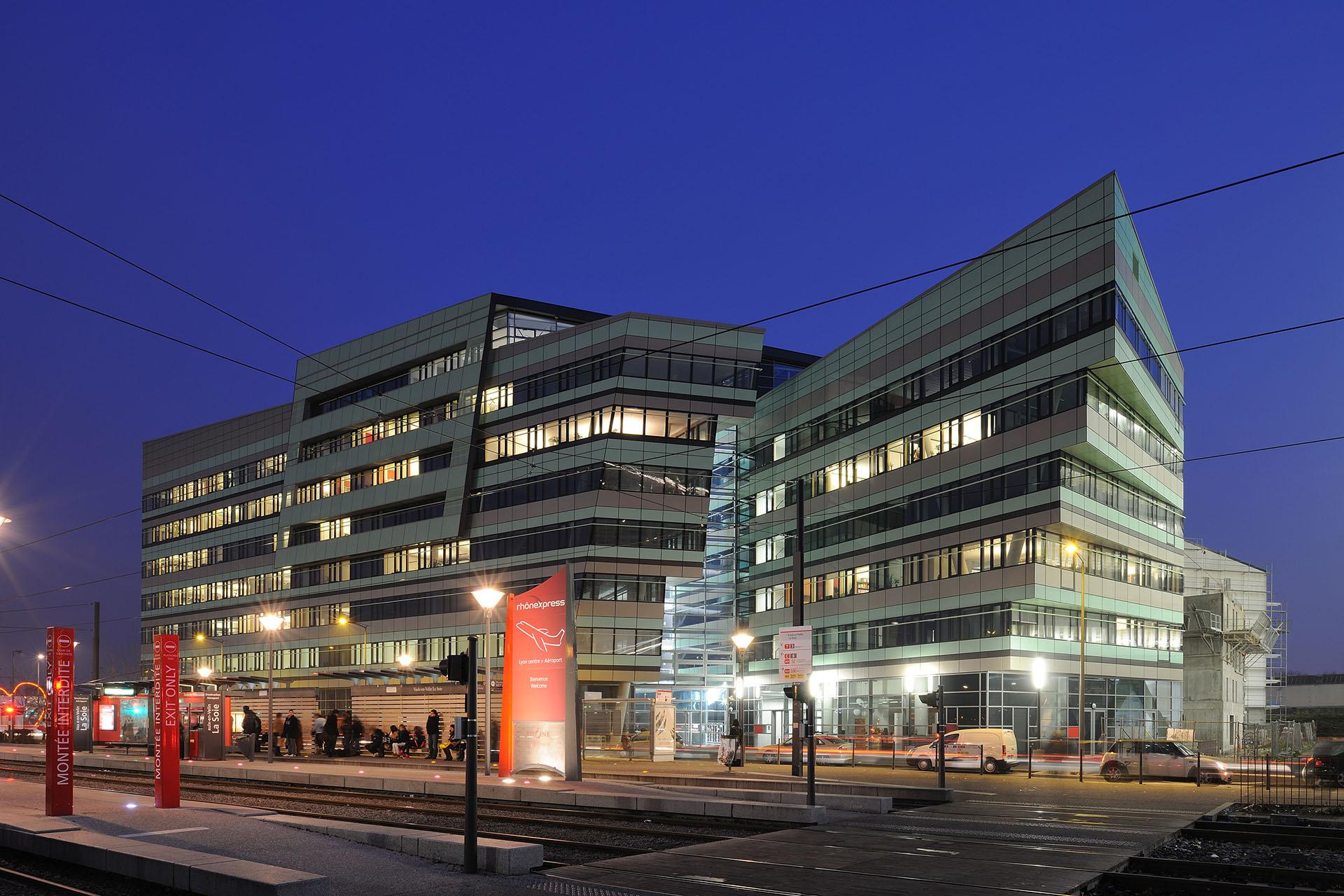 Le Carre de Soie - RAU Architects