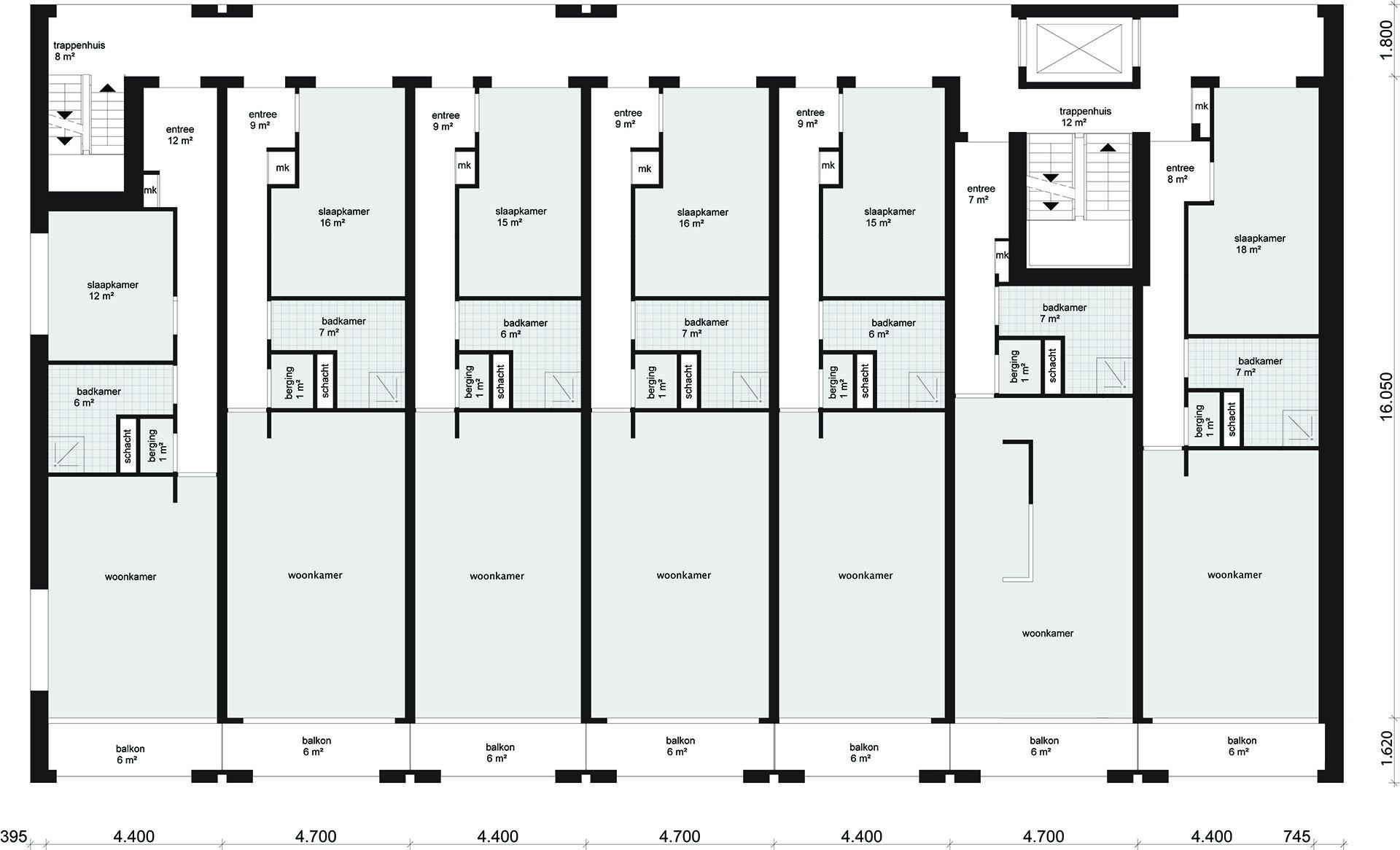 Appartementen Hilversum
