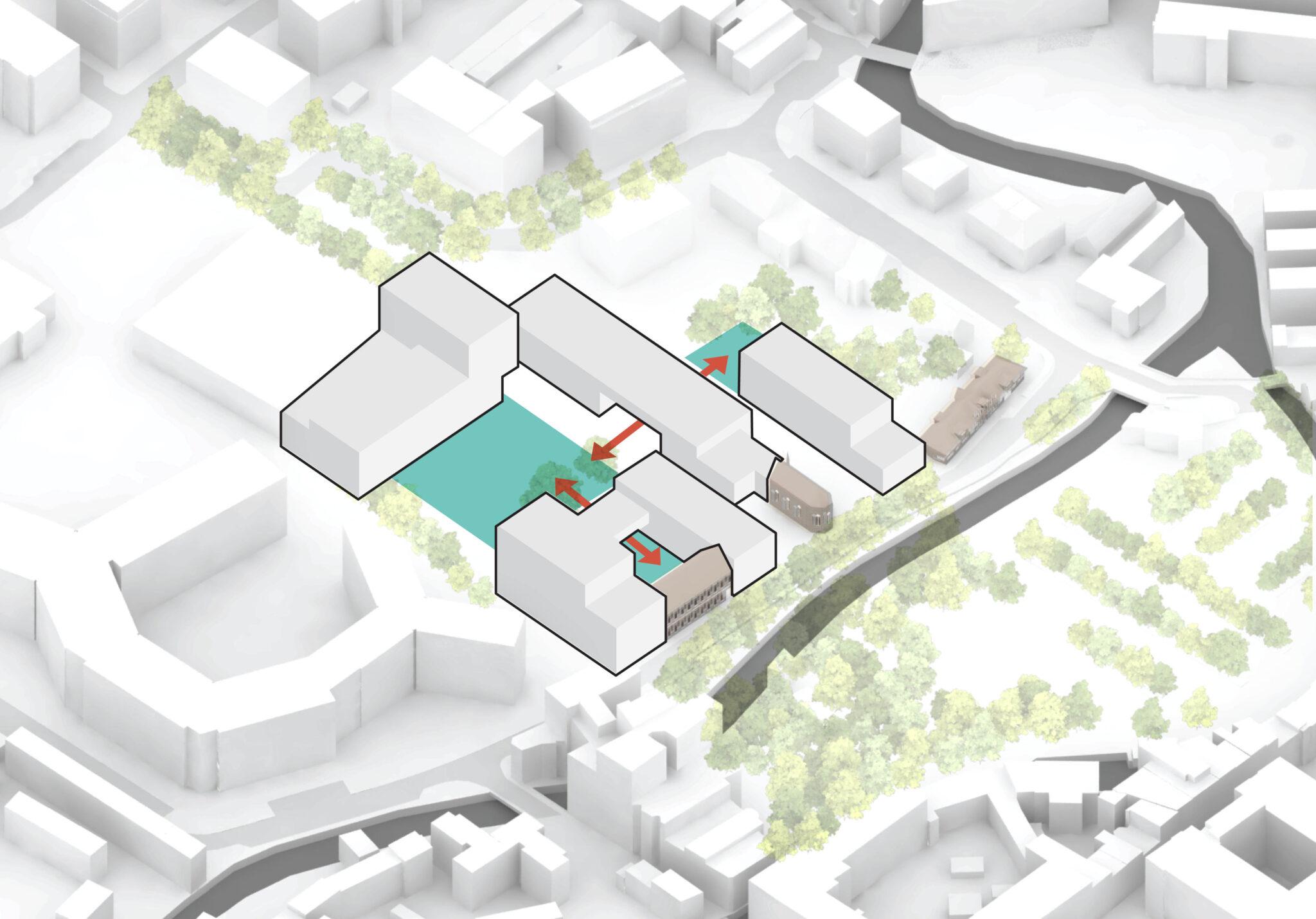 Redingensite Leuven - RAU Architects - scheme_e doorsteken