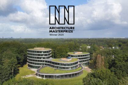 """Triodos is een van de winnaars de Architecture MasterPrize™ 2020 (AMP) in de categorie """"Green architecture""""."""