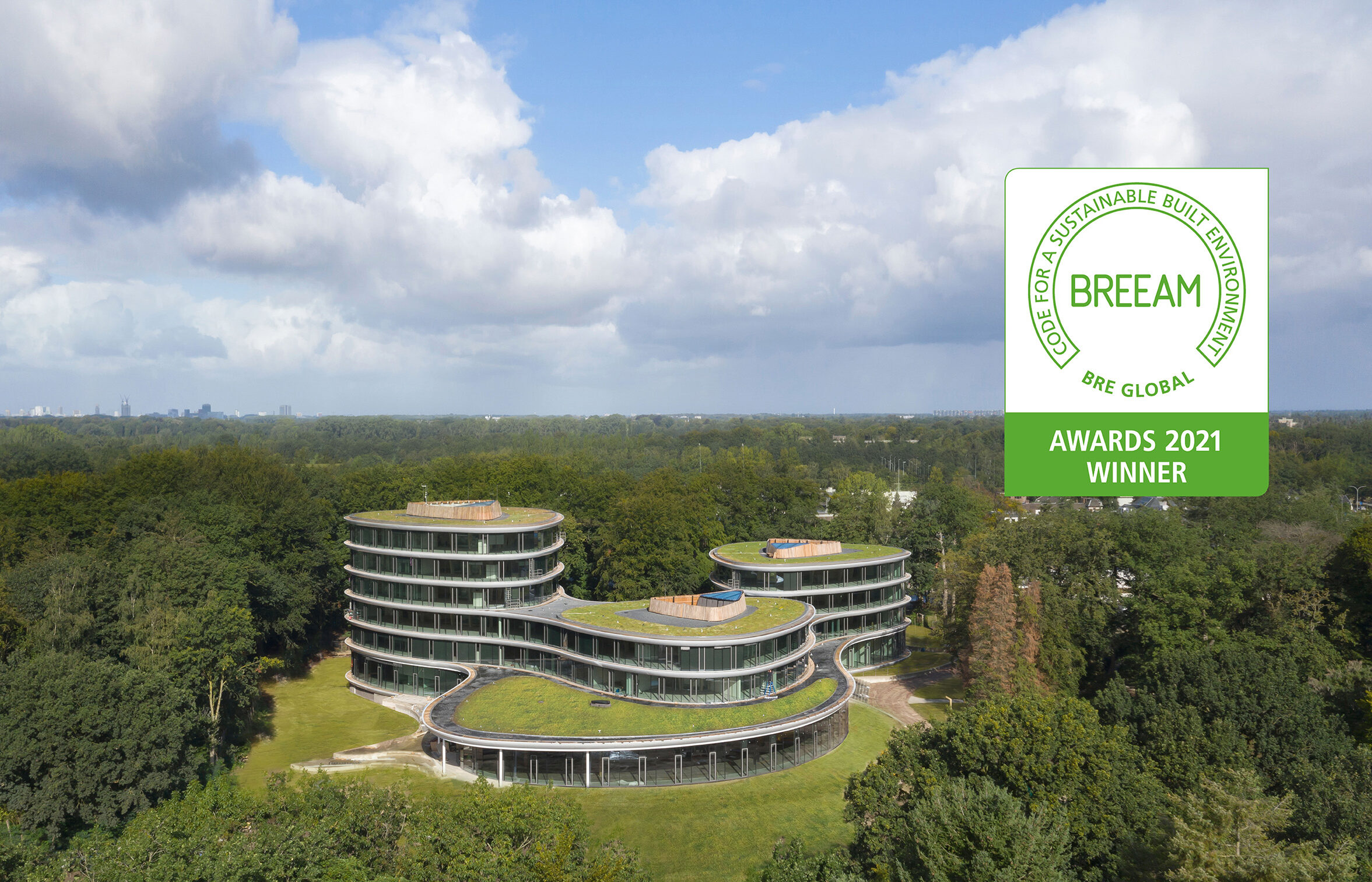 Triodos Bank wint BREEAM Awards