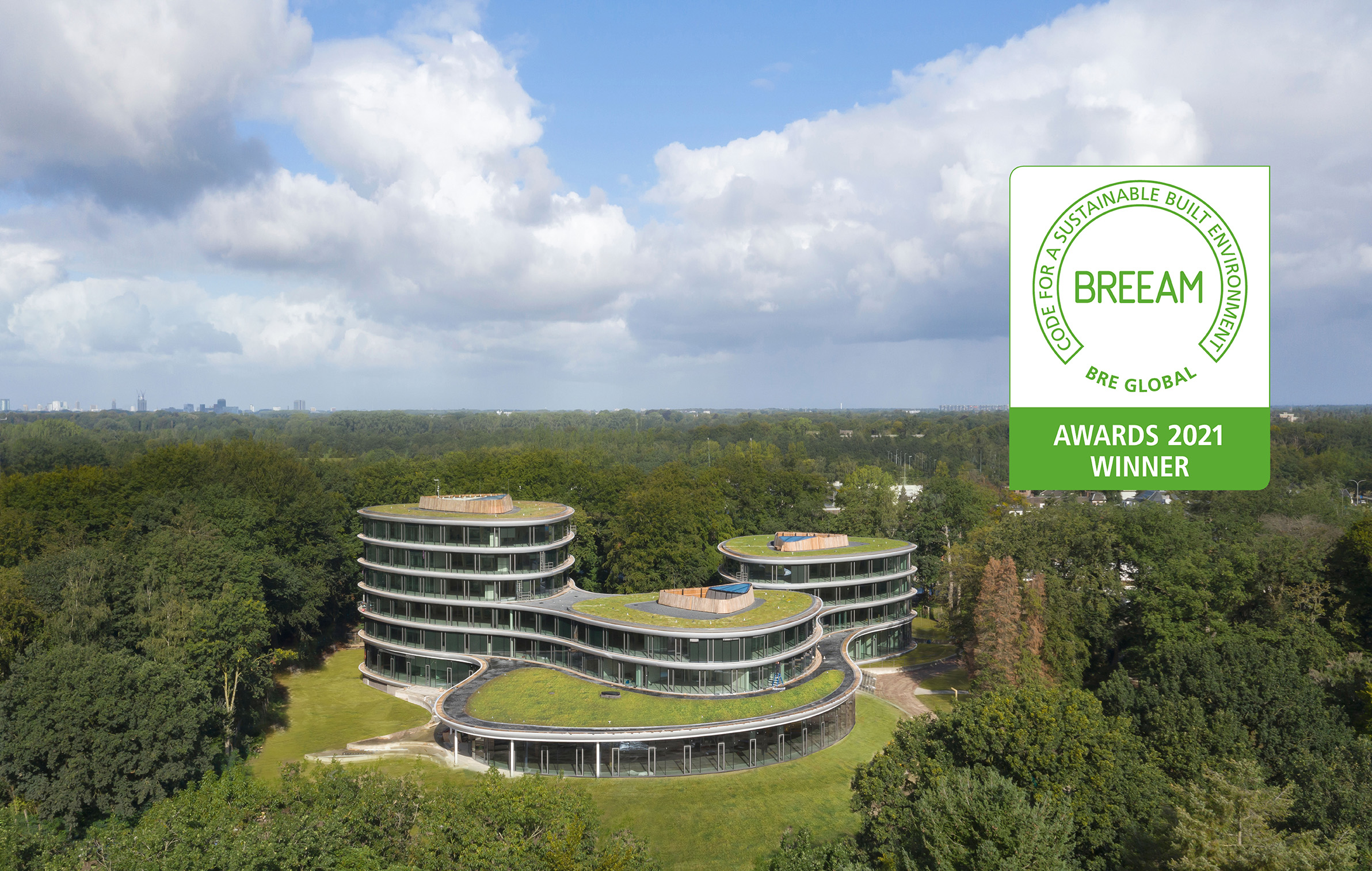 Triodos Bank wint BREEAM Awards
