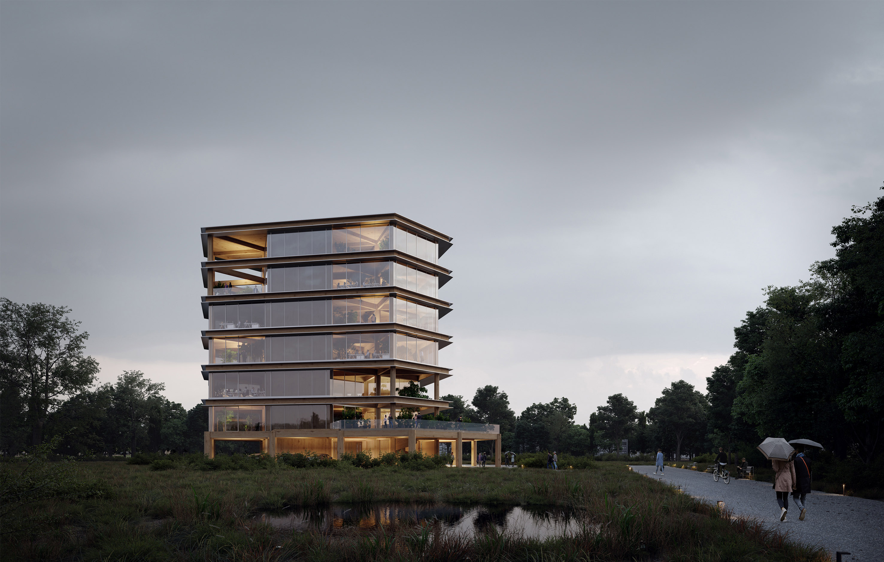 Leiedal RAU Architects Exterior View