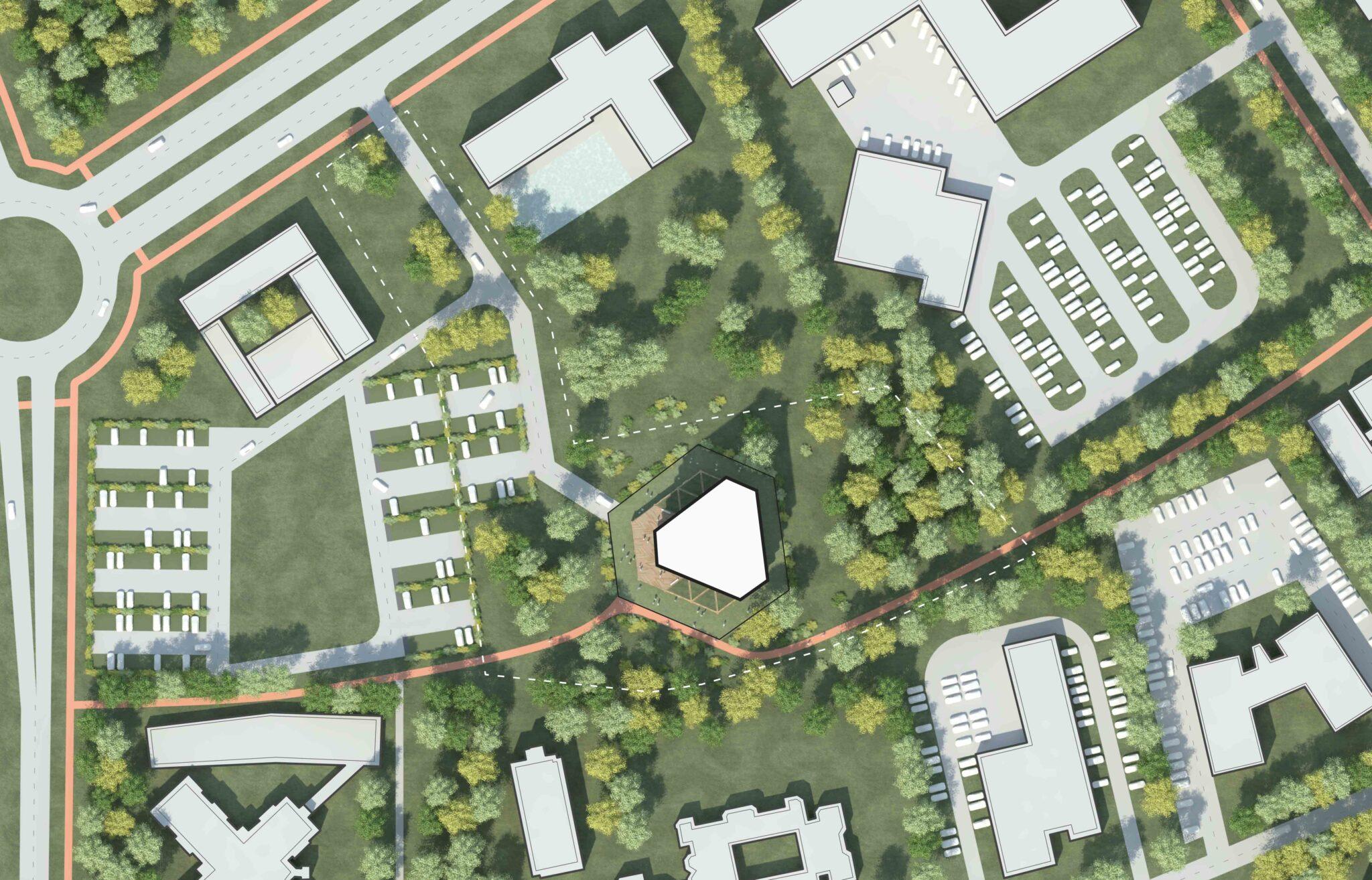 Leiedal RAU Architects Site Plan